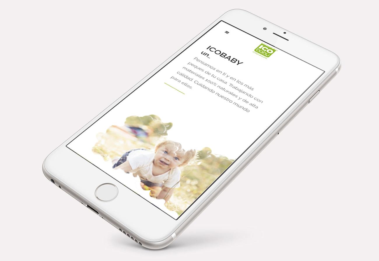 Diseño de web - IcoBaby
