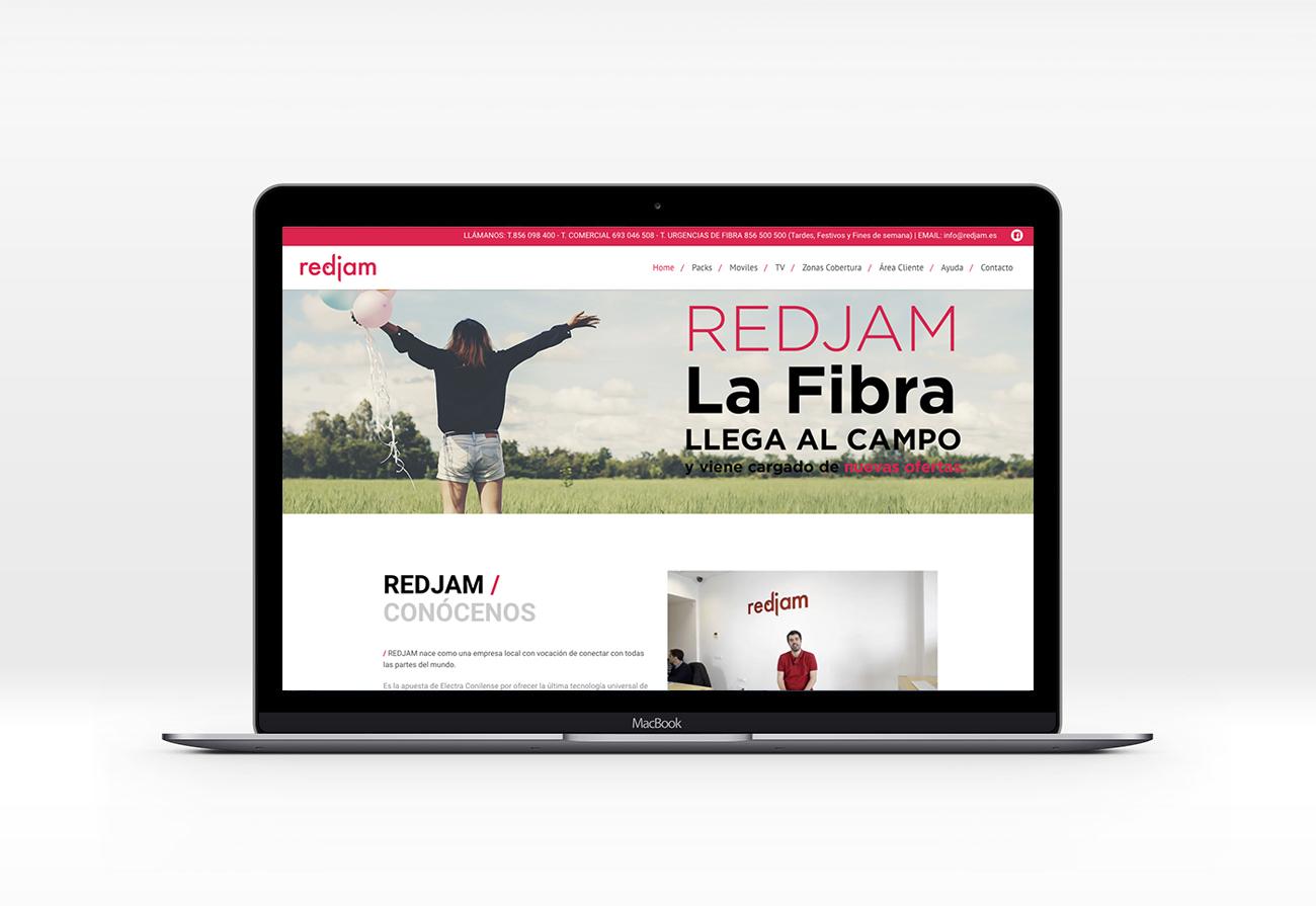 redjam diseño paginas wordpress rubi