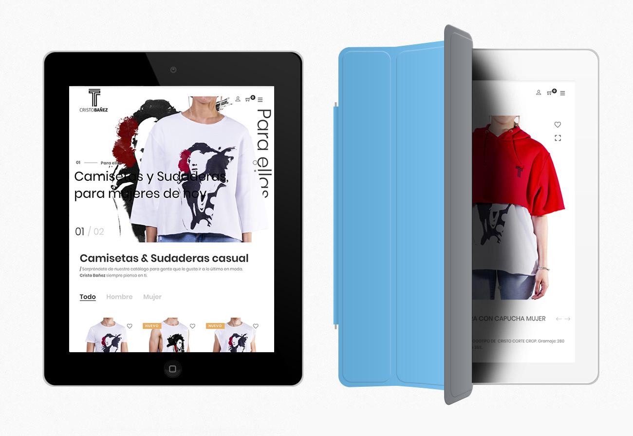 diseño web cristo bañez shop