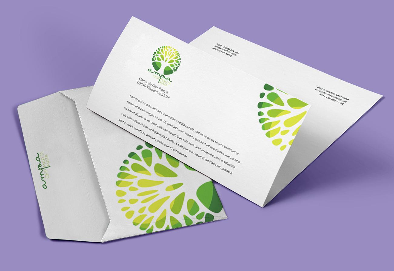 AMPA Marta Mata branding